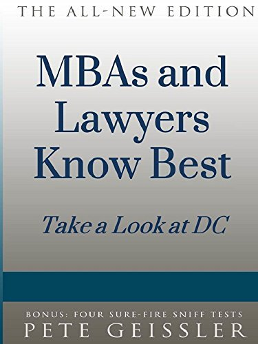 MBAs and Lawyers know Best: Take a Look at DC Pete Geissler