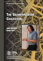 The Geometrization Conjecture John W. Morgan