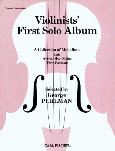 Violinists First Solo Album George Perlman