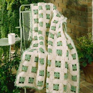 Shamrock Wrap Crochet ePattern Leisure Arts