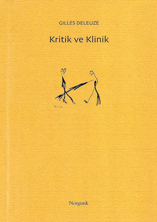Kritik ve Klinik Gilles Deleuze