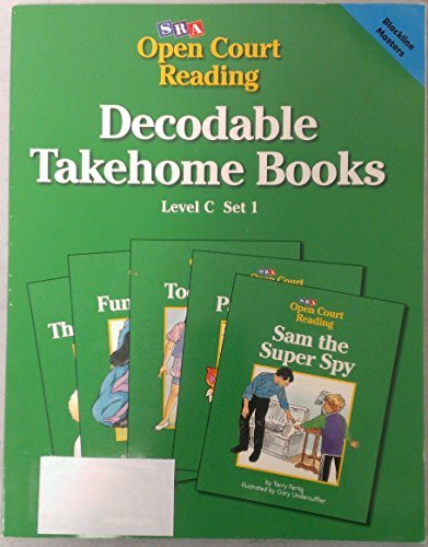 Decodable Takehome Books, Level C, Set 1, Blackline Masters Science Research Associates
