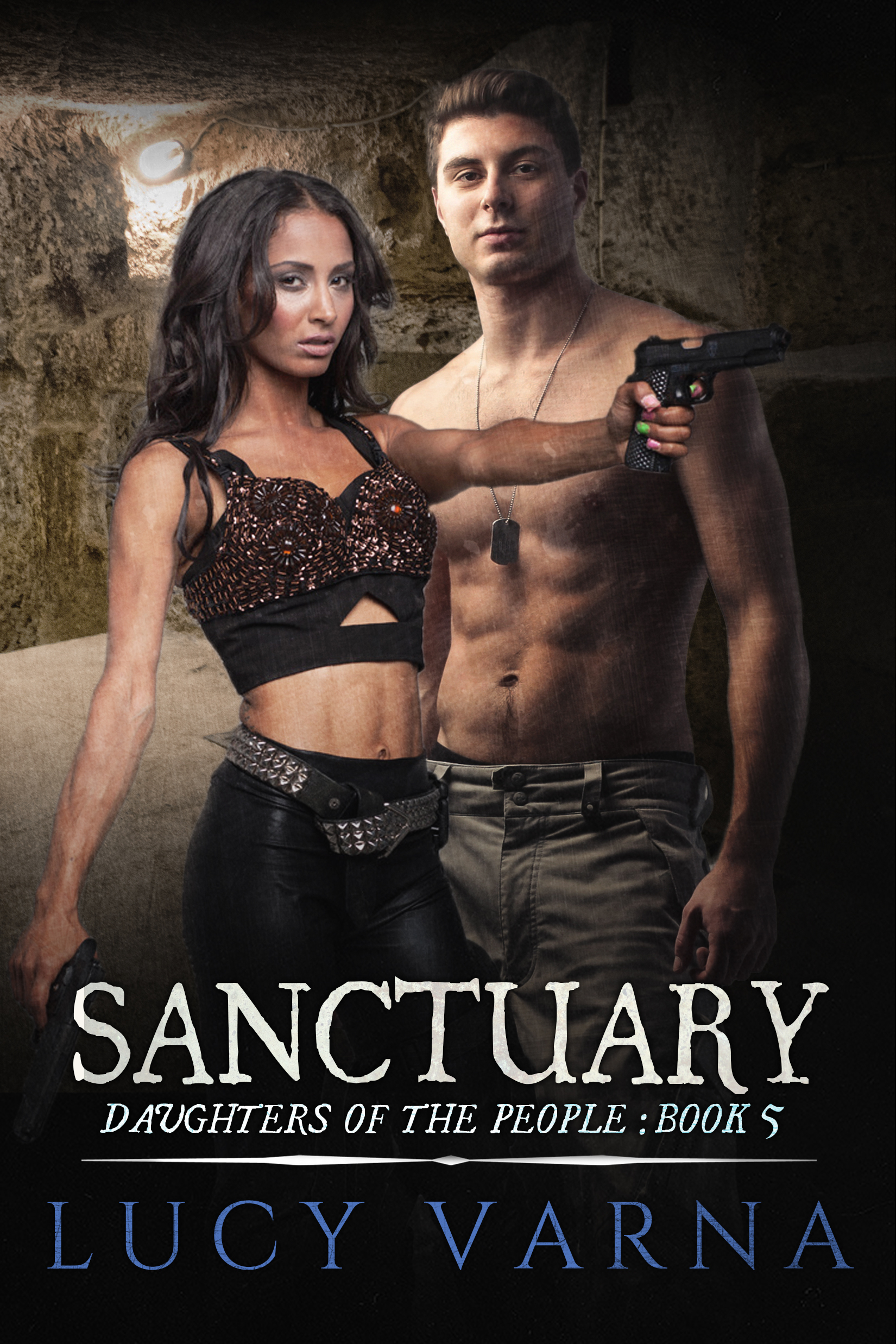 Sanctuary (Daughters of the People, #5) Lucy Varna