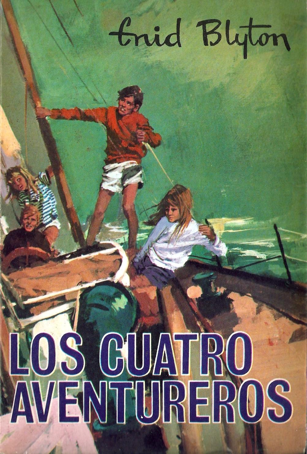 Los cuatro aventureros Enid Blyton