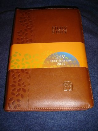 BROWN Leather Bound MODERN CHINESE - ENGLISH Bilingual Holy Bible / CNV - ESV / Cross Zipper, Golden Edges / Chinese New Version - English Standard Version / Shen Edition Bible Society