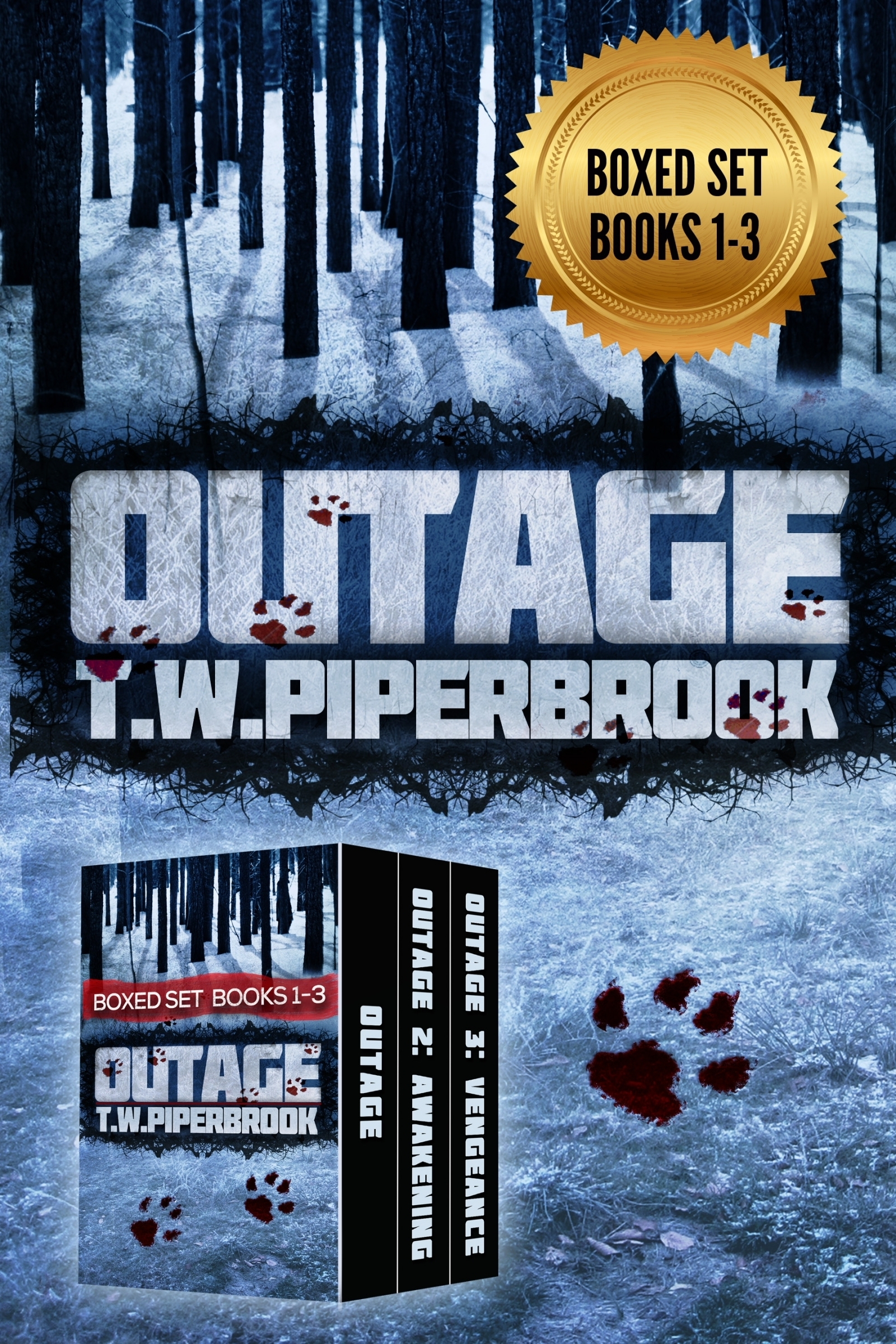 Outage Boxed Set: Books 1-3 (Outage #1-3) T.W. Piperbrook