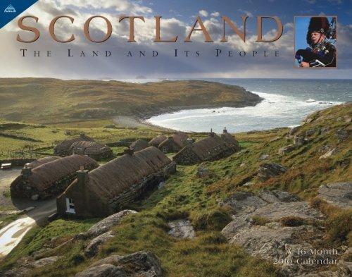 Scotland 2010 Panoramic Calendar  by  NOT A BOOK