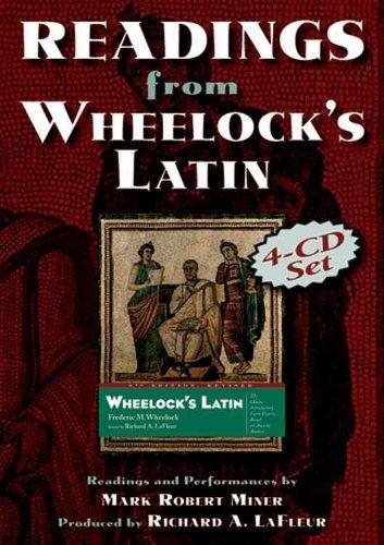 Readings From Wheelocks Latin Frederic M. Wheelock