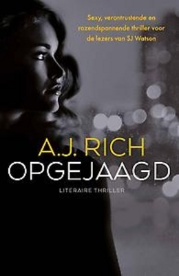Opgejaagd  by  A.J. Rich