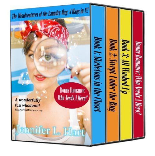 3 Hags in 1: The Misadventures of the Laundry Hag Mystery Box Set Books 1-3 BONUS Romance!  by  Jennifer L. Hart