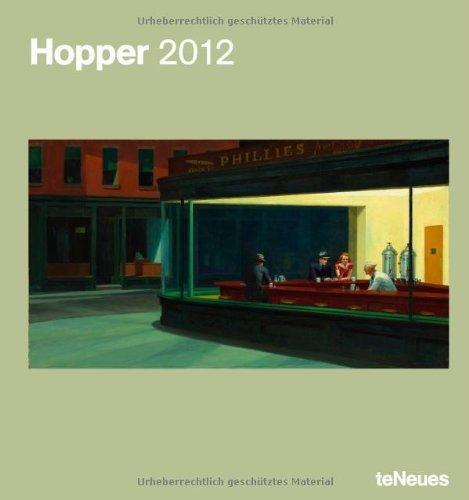 2012 Hopper Poster Calendar  by  HopperEdward