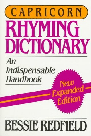 Capricorn Rhyming Dictionary Bessie Redfield
