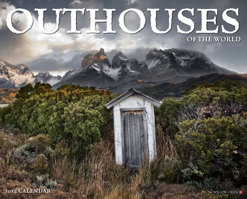 Outhouses 2014 Wall Calendar  by  NOT A BOOK