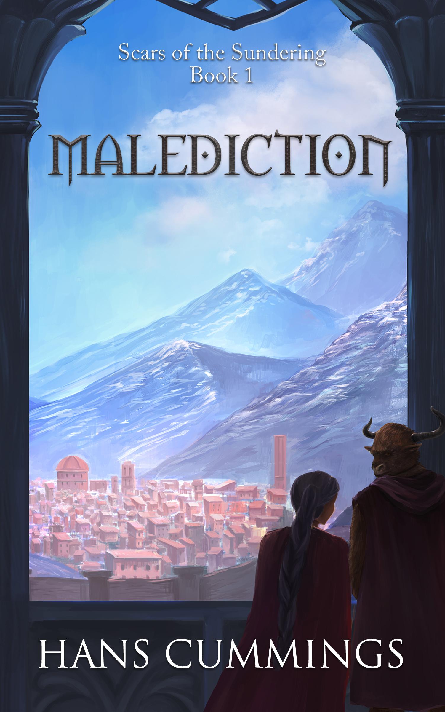 Malediction (Scars of the Sundering, #1) Hans Cummings