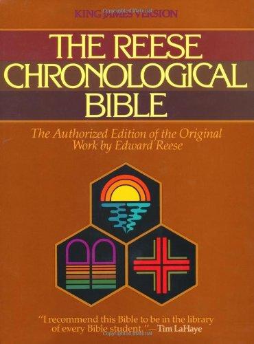 Reese Chronological Bible-KJV Edward Reese