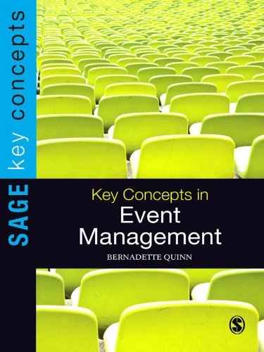 Key Concepts in Event Management (SAGE Key Concepts series)  by  Bernadette Quinn