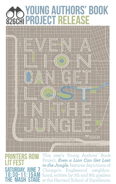 Even a Lion Can Get Lost in the Jungle  by  826CHI