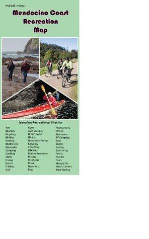 Mendocino Coast Recreation Map  by  Rixanne Wehren