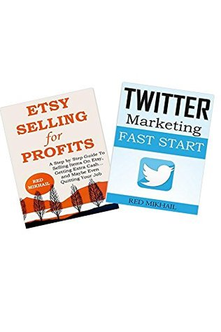 ETSY SELLING AND TWITTER MARKETING  by  Red M