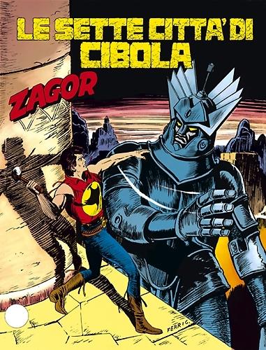 Zagor n. 356: Le sette città di Cibola  by  Mauro Boselli
