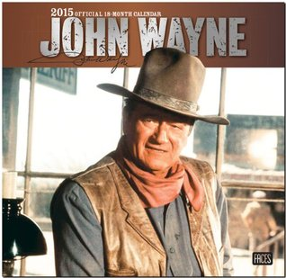 John Wayne 2015 Square 12x12 Faces (ST-Silver Foil)  by  NOT A BOOK