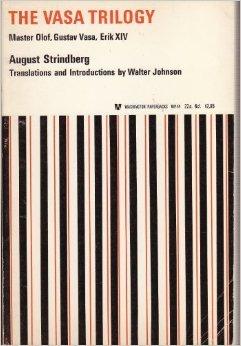The Vasa Trilogy  by  August Strindberg