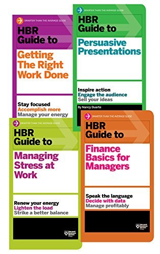 The HBR Guides Collection (8 Books) (HBR Guide Series) Nancy Duarte