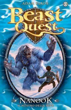 Tartok Il Mostro della Neve (Beast Quest, #5) Adam Blade