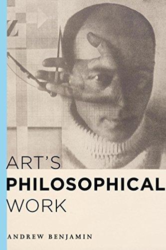Arts Philosophical Work Andrew Benjamin