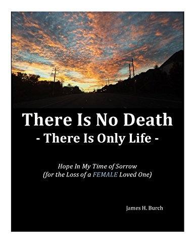 There Is No Death ... There is Only Life: Hope in My Time of Sorrow over the Loss of a FEMALE Loved One  by  James H. Burch