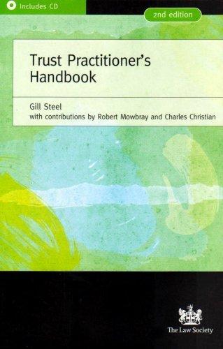 Trust Practitioners Handbook Gill Steel