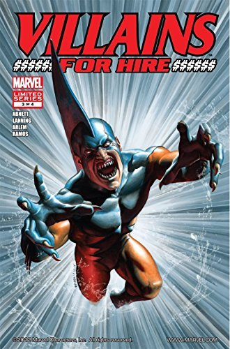 Villains For Hire #3 (of 4) Dan Abnett