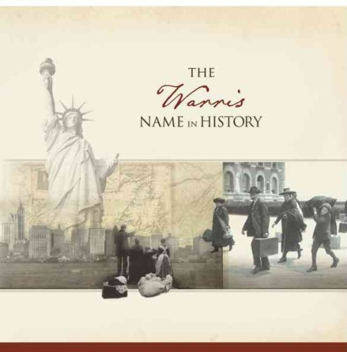 The Warris Name in History  by  Ancestry.com