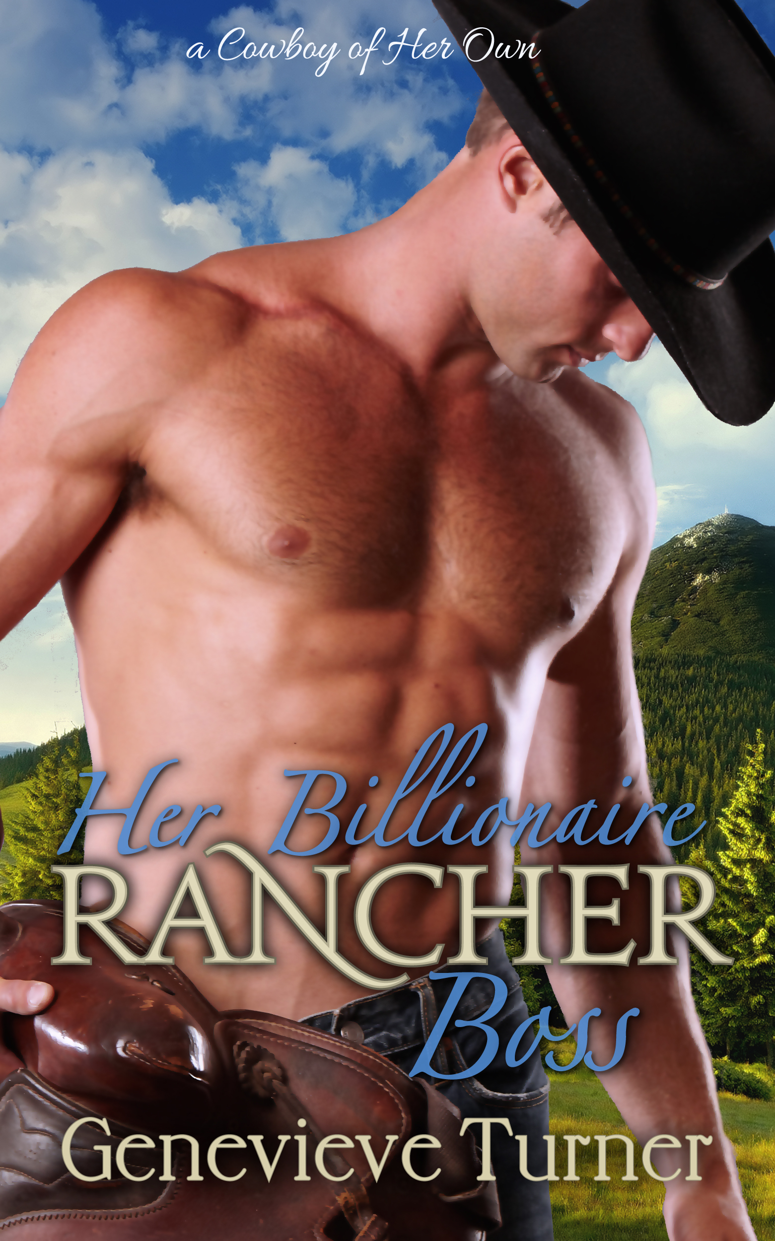 Her Billionaire Rancher Boss (A Cowboy of Her Own, #1) Genevieve Turner