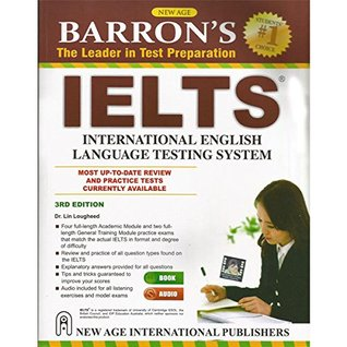 Barrons IELTS (With 2 CD) 3nd Edition (English)  by  Dr. Lin Lougheed