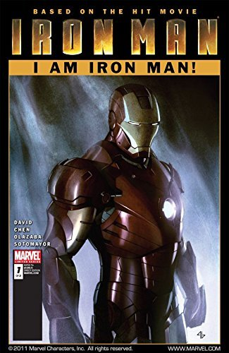 Iron Man: I Am Iron Man! #1 (of 2) Peter David
