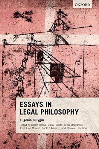 Essays in Legal Philosophy  by  Eugenio Bulygin