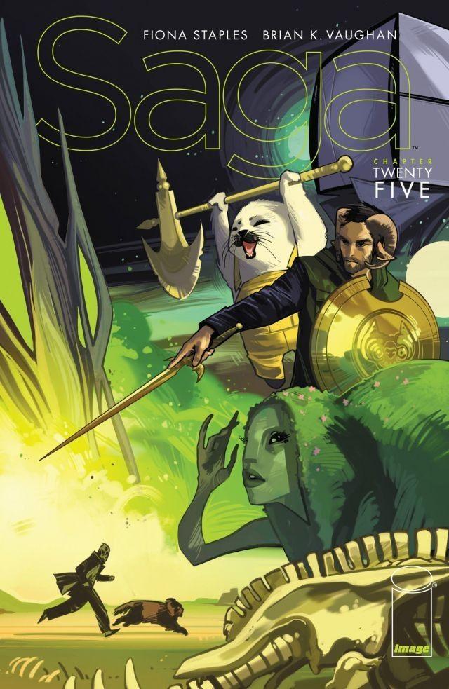 Saga #25  by  Brian K. Vaughan