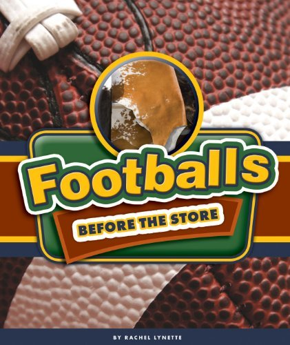Footballs Before the Store  by  Rachel Lynette
