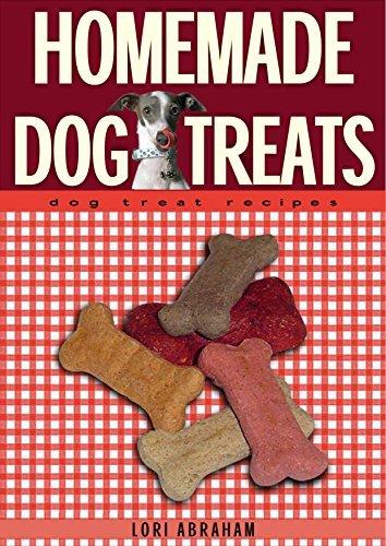 Homemade Dog Treats: dog treat recipes  by  Lori Abraham