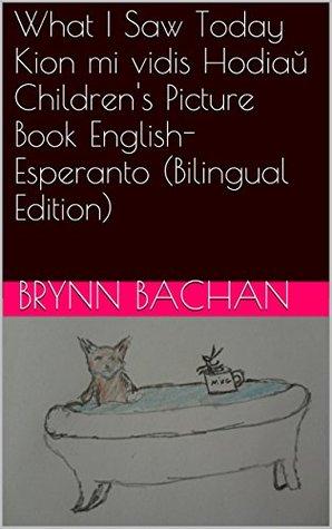 What I Saw Today Kion mi vidis Hodiaŭ Childrens Picture Book English-Esperanto Brynn Bachan