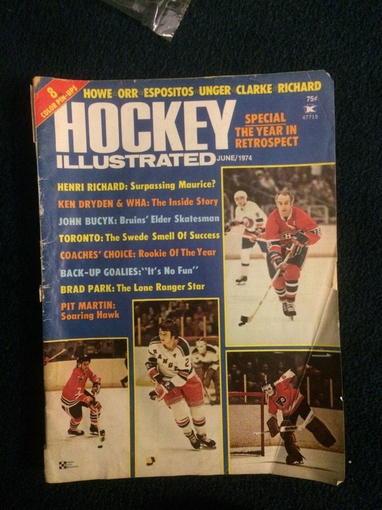 Hockey Illustrated Magazine - June 1974  by  Various