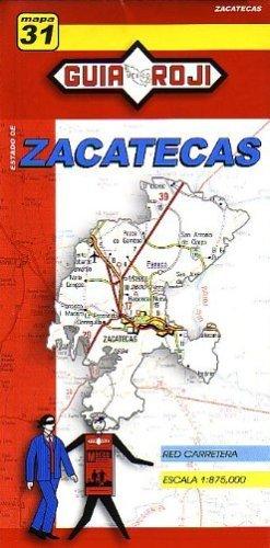 Zacatecas State Map  by  Guia Roji by Guia Roji