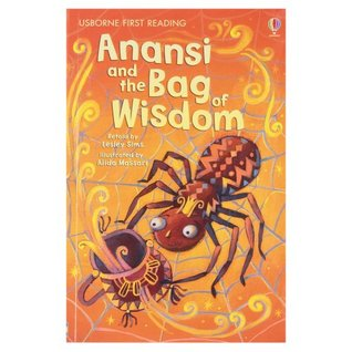 Anansi & the Bag of Wisdom (First Reading Level 1)  by  Lesley Sims