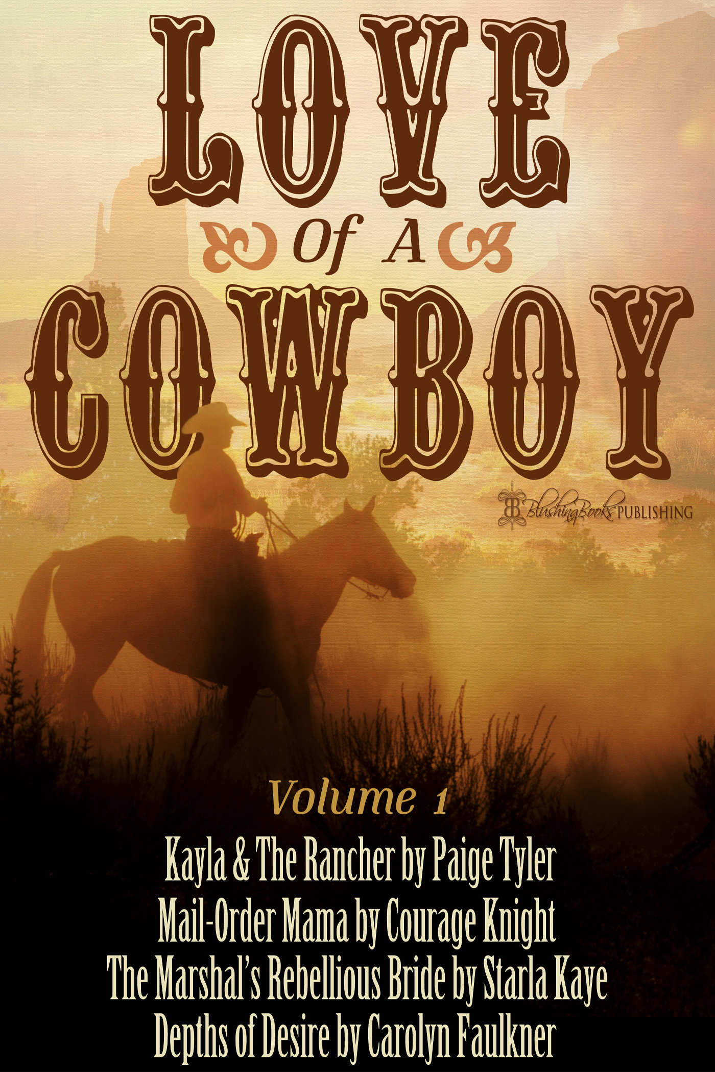 Love of a Cowboy 1  by  Paige Tyler