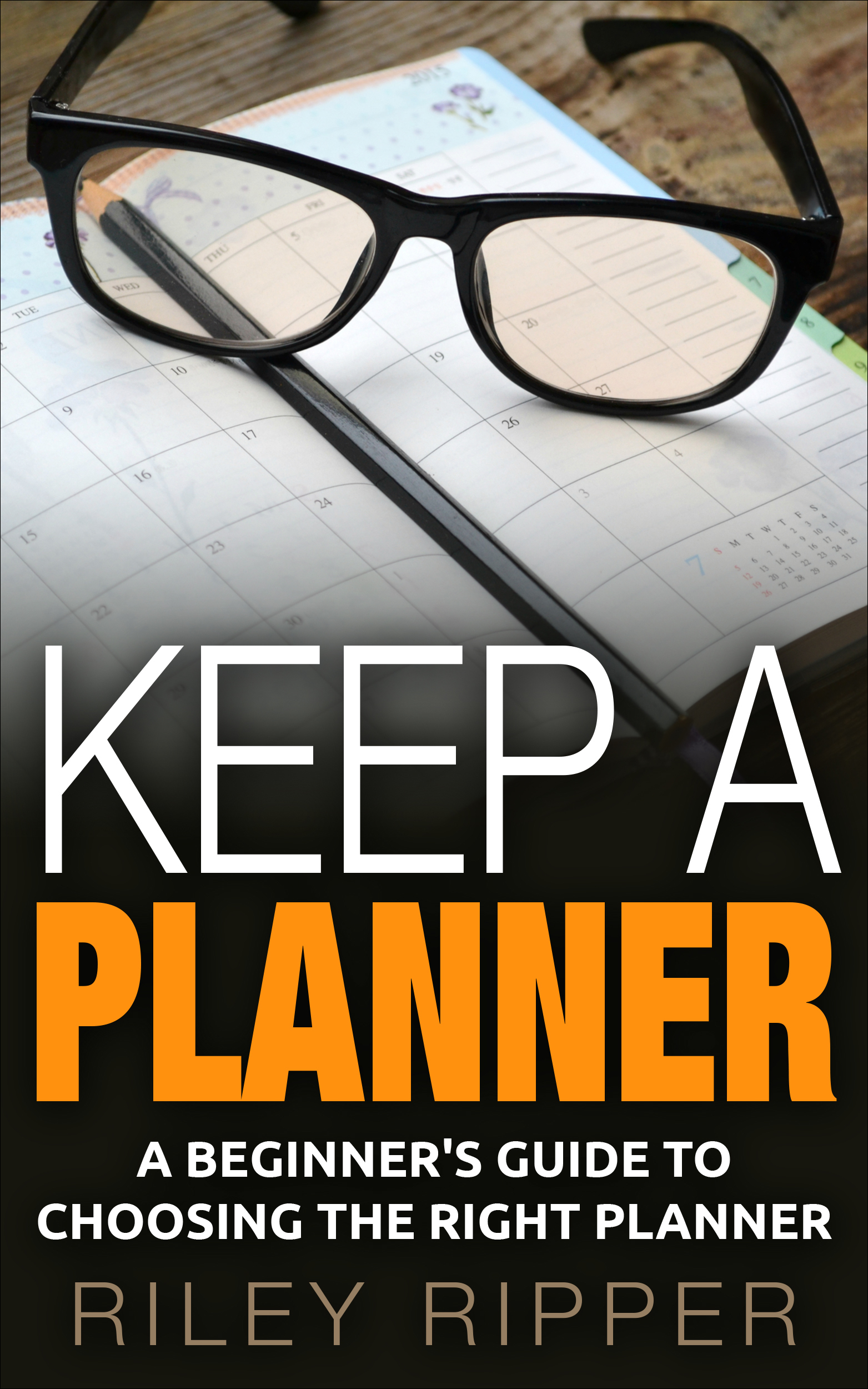 Keep a Planner: A Beginners Guide to Choosing the Right Planner  by  Riley Ripper