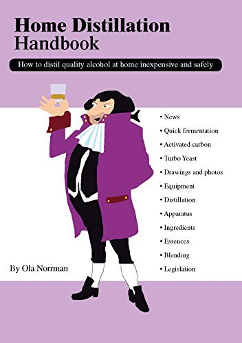 Home Distillation Handbook, How to distil quality alcohol at home inexpensive and safely  by  Ola Norrman