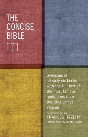 The Concise Bible Frances Hazlitt