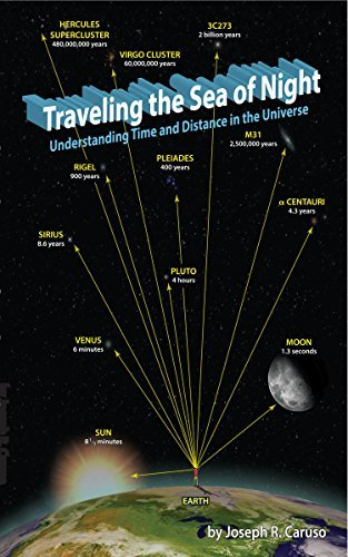 Traveling the Sea of Night: Understanding Time and Distance in the Universe  by  Joseph R. Caruso