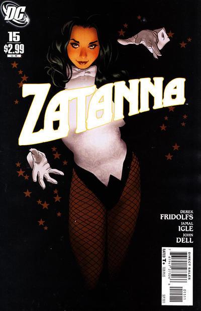 Zatanna #15: Witch Hunt  by  Derek Fridolfs